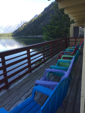Stehekin, WA: The deck