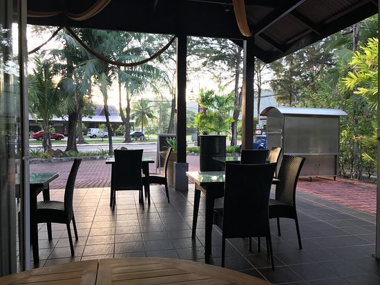 Pantai Tengah, Malezya: The breakfast room