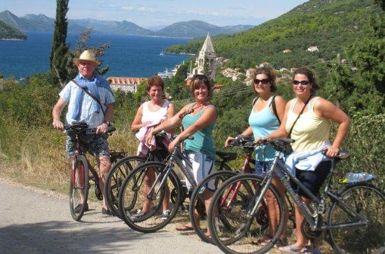 Excursão de bicicleta e caiaque...