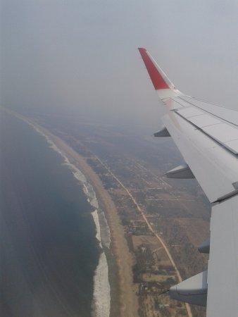 Playa Larga Vista desde el Aire.