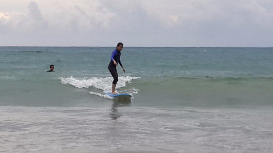 ‪‪Choeng Thale‬, تايلاند: learning to surf at Bang Tao Beach‬