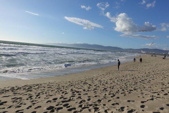 Venice Beach Boardwalk : Dirty beach