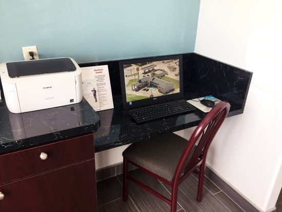 Forney, TX: Business Center with Free Printing
