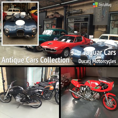 Jaguar Cars And Ducati Motorcycles Picture Of Classic Remise