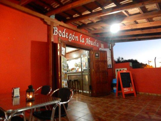 El Paso, Spanje: Eingangsbereich