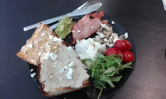 Crows Nest, Australia: New menu on offer, includes the Healthy Breakfast.