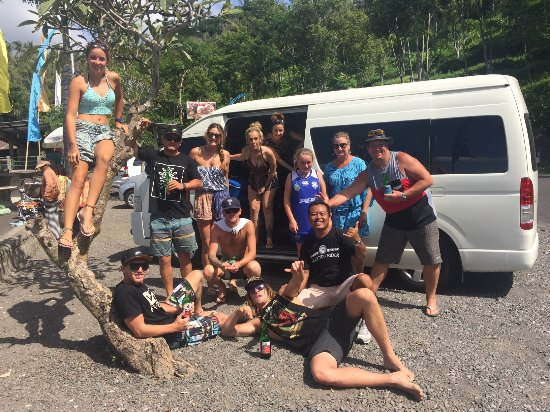 Jimbaran, Indonesia: Day trip with my aussie friends 😎😎