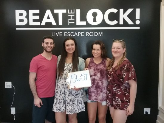 Birthday Party at Beat The Lock Escape Rooms Picture of Beat The