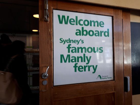 Manly Beach : Welcome aboard