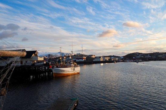Gjesvaer, Noruega: Midnattsol