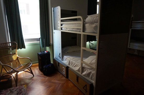 4 bed female only room Picture of Generator Hostel Rome Rome