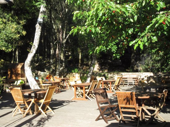 Calenzana, Prancis: en terrasse