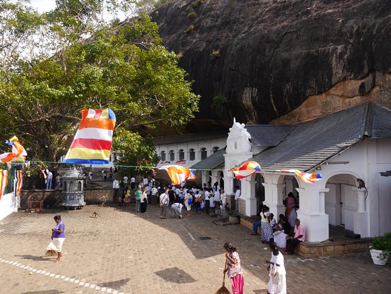 Dambulla, Sri Lanka: Tempel Anlage