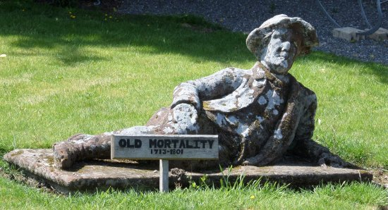 Newton Stewart, UK: Sir Walter Scott's 'Old Mortality' - Robert Patterson was his name