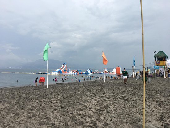 Subic Bay Freeport Zone, Philippinen: beach