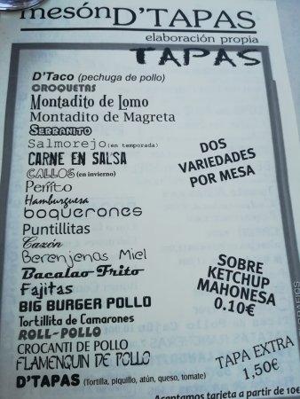 Santa Fe, Spanien: D' tapas