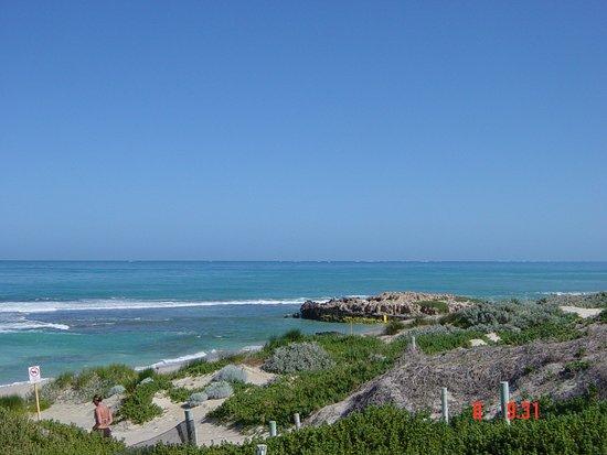 Trigg, Australia: glorious coastal views just 5 minutes walk to the coast