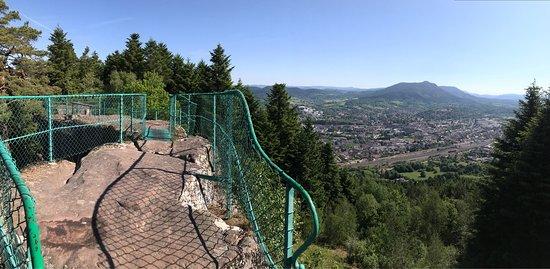 Saint Die des Vosges, France: La Roche Saint-Martin