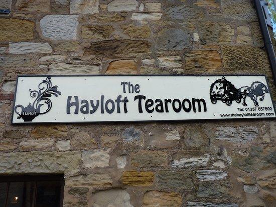 Hayloft Tea Room Falkland