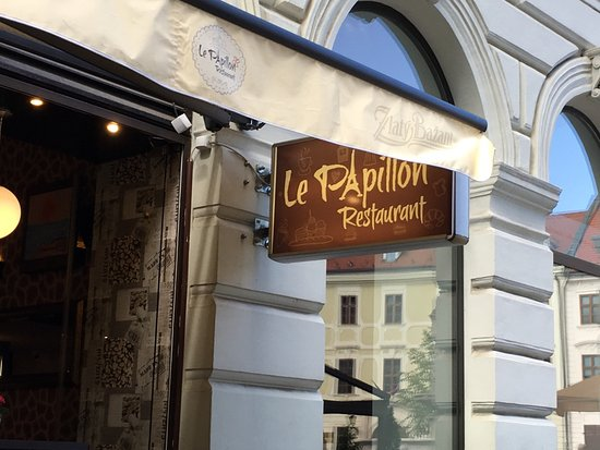 le papillon restaurant bratislava recenze restaurace tripadvisor. Black Bedroom Furniture Sets. Home Design Ideas