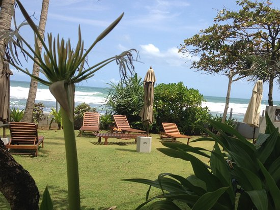 Talpe, Sri Lanka: Blick aus dem Zimmer