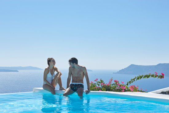 Canaves Oia Hotel - Pool Life