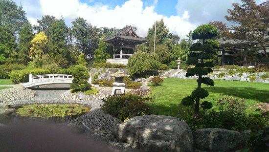 Japanischer garten und eko haus picture of eko haus der for Japanischer garten haus