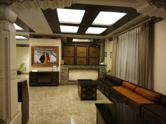 Pedling Hotel & Spa: Hotel Reception
