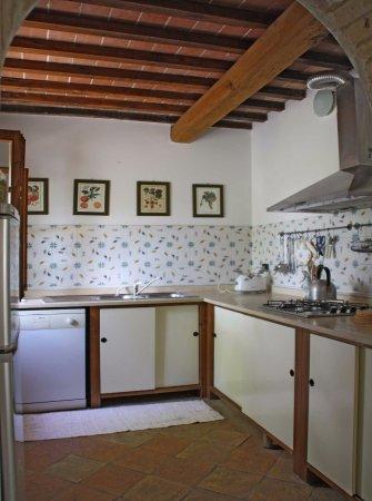 Casole d'Elsa, Itália: Apt Frassino kitchen