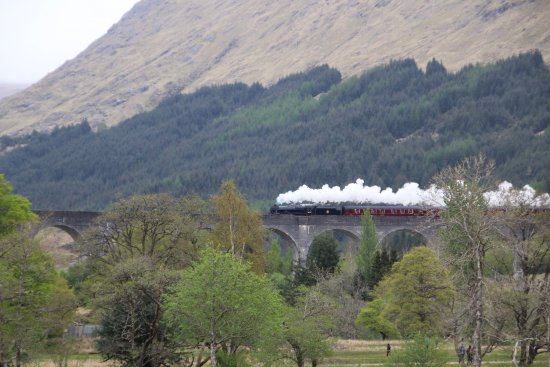 Glenfinnan, UK: Steamtrain