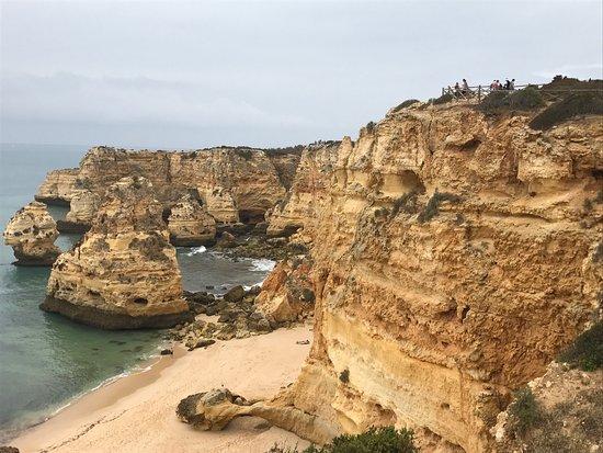 Praia da Marinha: photo1.jpg