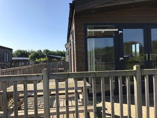 Thirsk, UK: Woodland lakes lodges