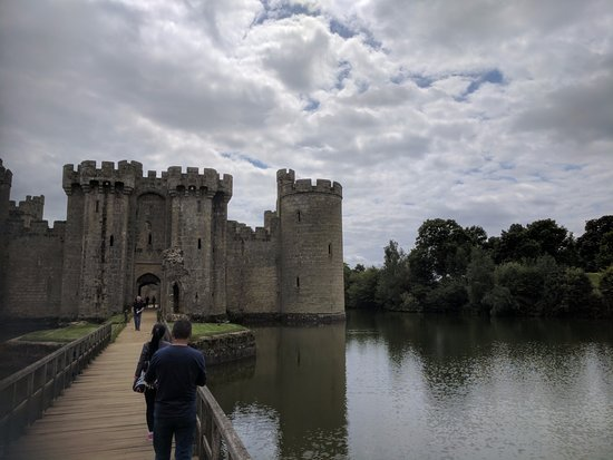 Bodiam, UK: castle