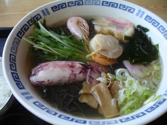 Mutsu, Japão: いかすみラーメン