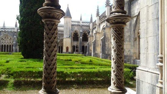 Batalha, Portugal: monastère vue intérieure
