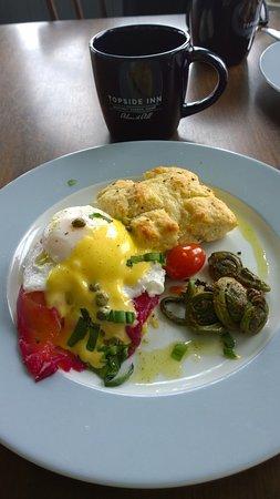 Topside Inn: Desayuno de 10
