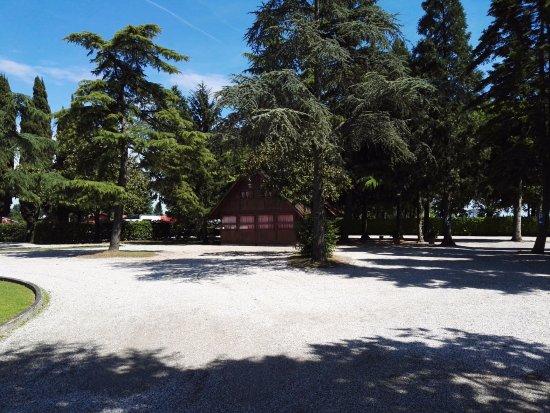 Noventa di Piave, Italy: Parcheggio