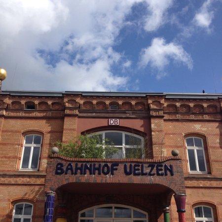 Uelzen, Germany: Hundertwasser-Bahnhof