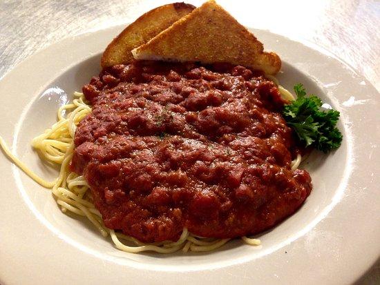 Stillwater, MN: Italian spaghetti