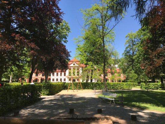 Hofgarten der Eichstatter Sommerresidenz