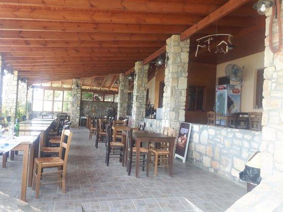 Malia, Grecia: Lunch stop