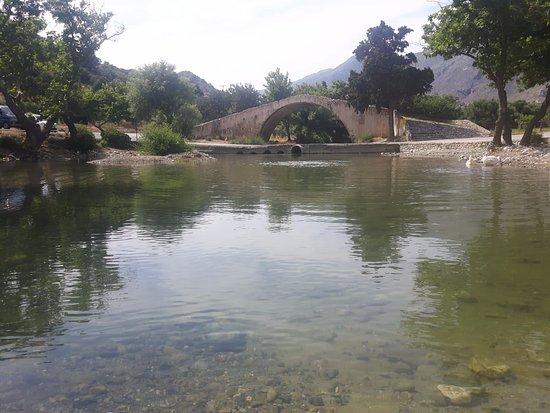 Malia, Grecia: Mountain washway