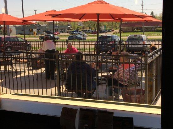 Stillwater, MN: Josephs newest addition, our patio.