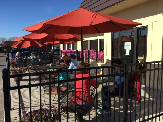 Stillwater, MN: Yes, we are ready for you to join us on the new patio.