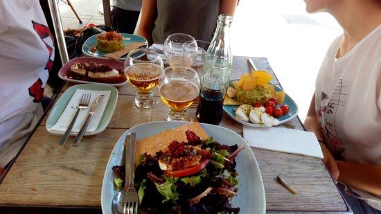 Restaurante Lateral Fuencarral: ensaladas