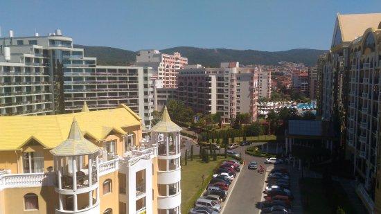 Hotel Condor: Вид с балкона на город, 8-ой этаж