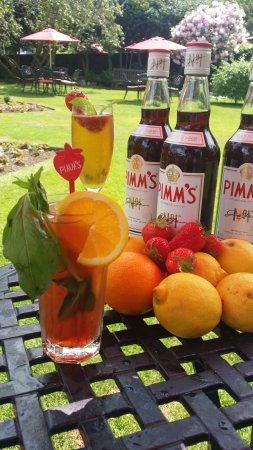 Borrowdale, UK: Join us for a Pimms cocktail this summer