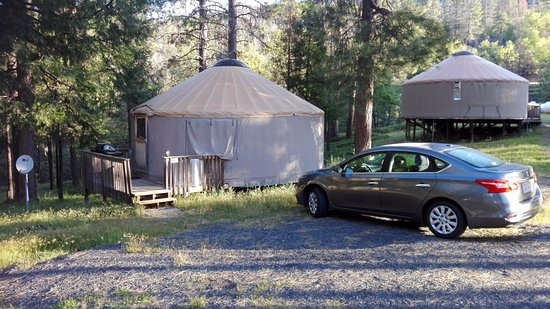 Yosemite Lakes RV Resort: Yurt 4 (Hill Yurt Village)