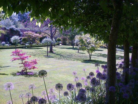 Faringdon, UK: Walled garden area
