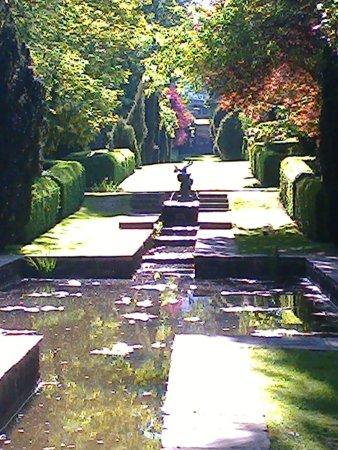 Faringdon, UK: Peto water Garden.